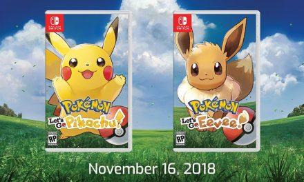 Pokémon Let's Go. Una nueva forma de acercarse a la saga