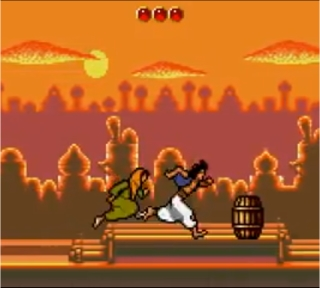 Aladdin Game Gear