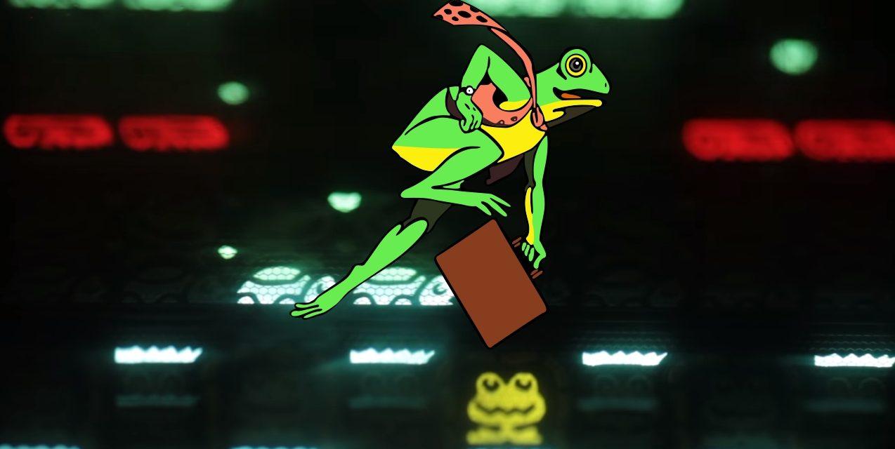 Frogger: La rana que cruzó la carretera