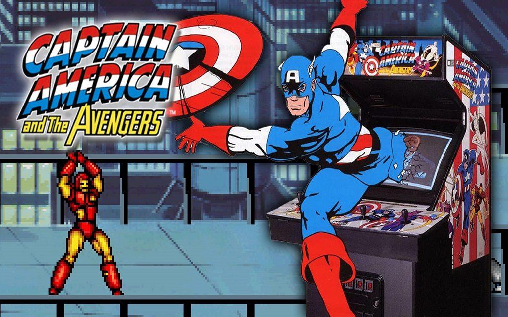 Capitán América y Los Vengadores – Arcade