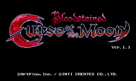 Análisis – Bloodstained: Curse of the Moon