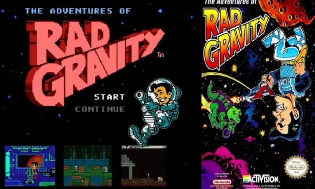 The Adventures of Rad Gravity – NES