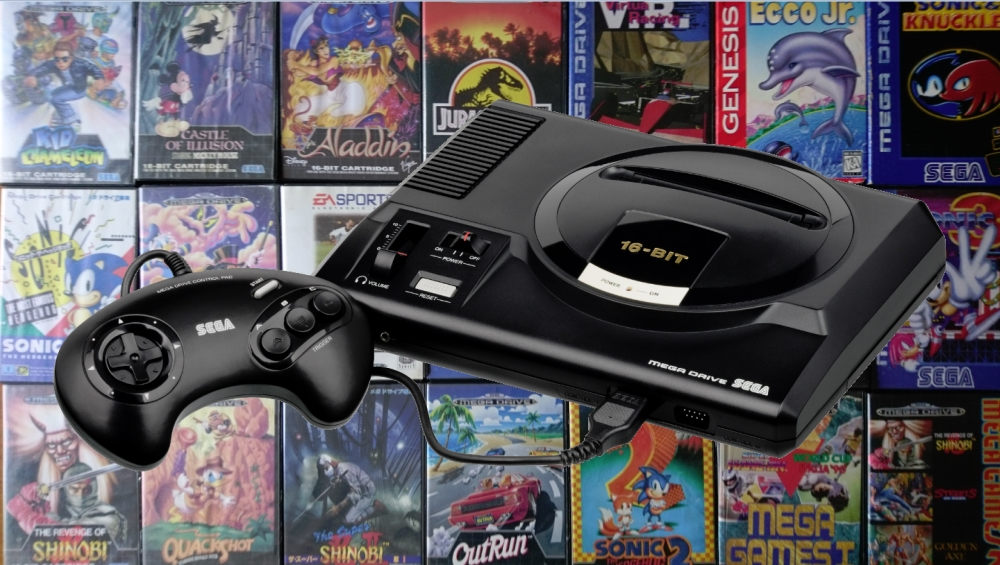 SEGA anuncia 10 nuevos juegos para Mega Drive Mini