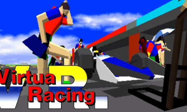Virtua Racing: Demo de Model 1 y estrella de Mega Drive.