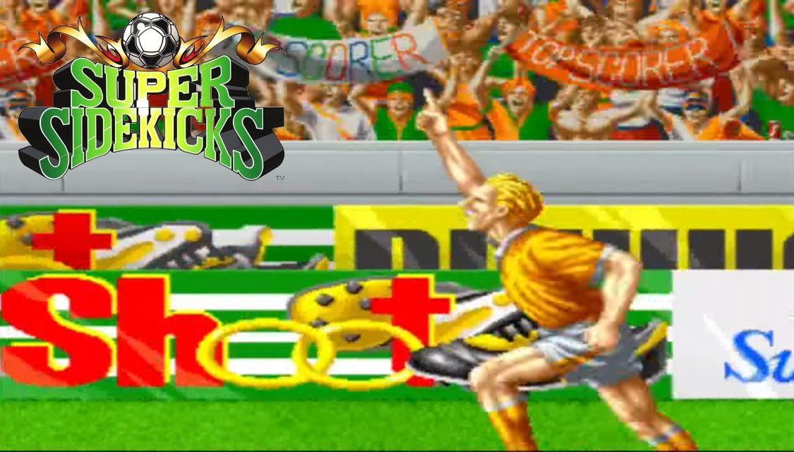 Supersidekicks: El fútbol espectáculo de SNK.