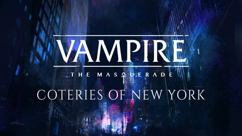 Análisis – Vampire: The Masquerade – Coteries of New York