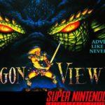 Dragon View/Drakkhen 2 – Super Nintendo