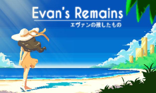 Análisis – Evan's Remains