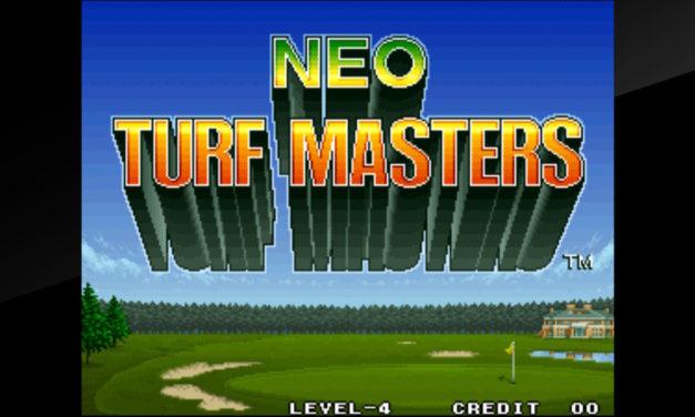 Neo Turf Masters: El Swing de Neo Geo