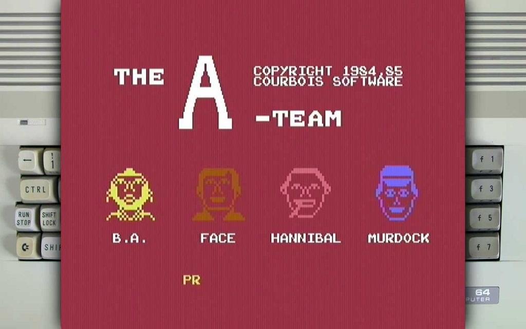 El Equipo A – Commodore 64