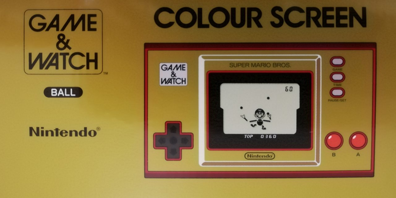 Probando – Game & Watch Super Mario Bros 35 Aniversario