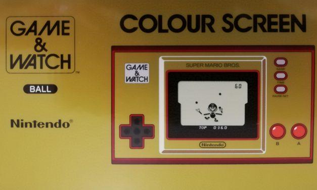 Probando – Game & Watch Super Mario Bros 35 Aniversario