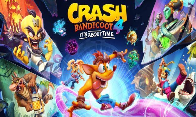 Análisis – Crash Bandicoot 4: It's About Time (Switch)