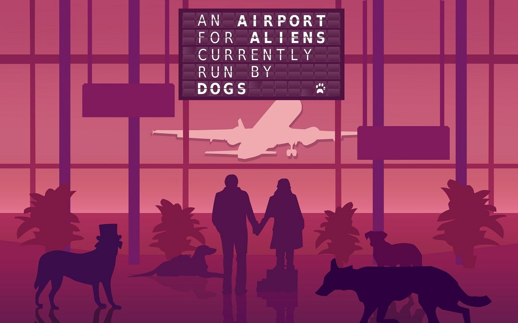 Análisis – An Airport for Aliens Currently Run by Dogs